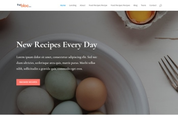 Food Recipes Demo