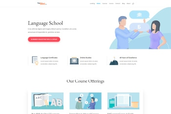 Language School Demo