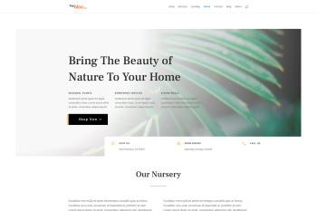 Plant Nursery Demo